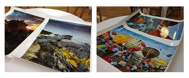 Sigma dp0 Quattro print of images taken by photographers Karl Holtby and Lea Tippett
