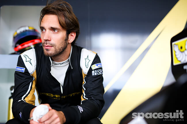 Driver: Jean-Eric Vergne Team: Techeetah by Photographer: Shivraj Gohil| Event: Hong Kong ePrix Circuit: Hong Kong FIA Formula E, Season: 2016-2017