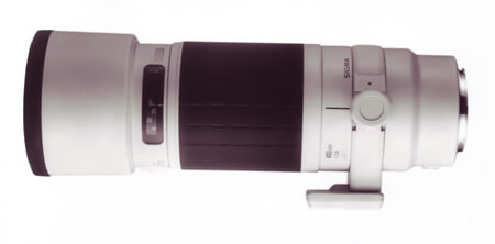 400mm f5.6 HSM White 1996