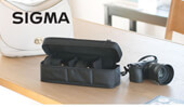 Free gifts with purchase of the SIGMA F1.4 DC DN trio