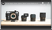 Will the SIGMA F1.4 Trio of lenses for mirrorless cameras work on full frame? by David O'Dwyer of DOD Media Ltd.