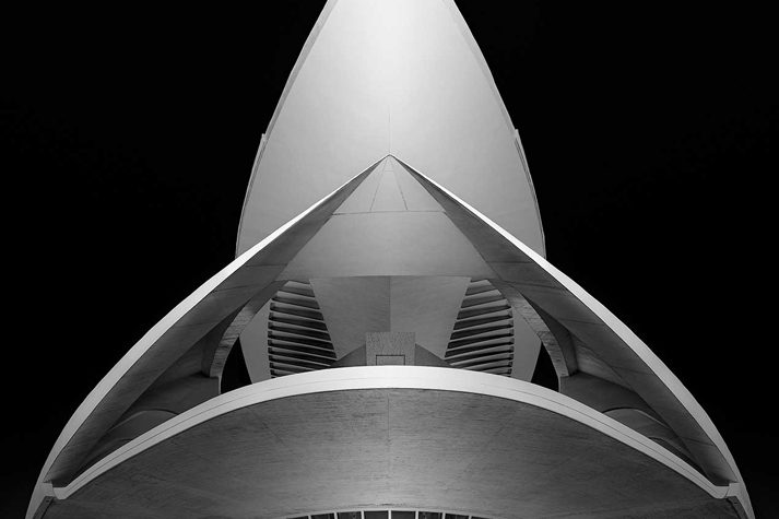 City of Arts and Sciences, Valencia, Spain 50 images stitched together