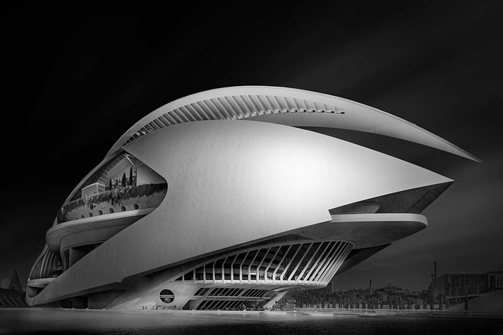 City of Arts and Sciences, Valencia, Spain. 20 images stitched together.