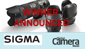 Winner of the SIGMA F2.8 Pro Trio competition with Digital Camera Magazine announced