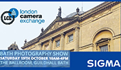 SIGMA UK at the London Camera Exchange, Bath, Photo & Optic Show, 19th October