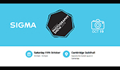 SIGMA UK at the Cambridge Photography Show, 19th October