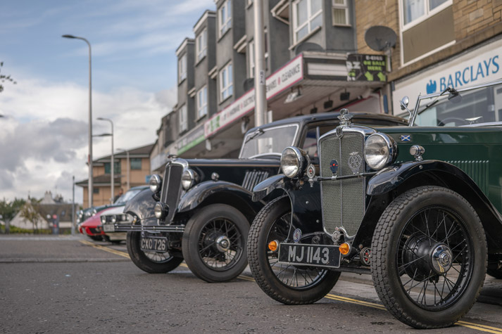 Classic cars in Kirky - SIGMA 45mm F2.8 DG DN | Contemporary with Panasonic S1