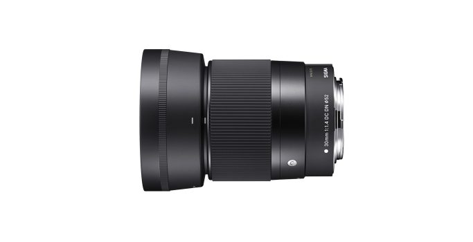 SIGMA 30mm F1.4 DC DN | Contemporary Lens Hood (LH586-01) supplied