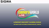 SIGMA UK at CameraWorld Live, London, 26th October