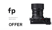 New Offer: Get up to £289 of FREE SIGMA fp Accessories 31st January to 31st March 2020