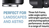 Best SIGMA landscape /astro lenses and the photographers who use them