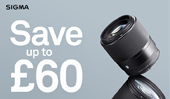 Save up to £60 on SIGMA EF-M lenses
