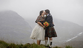 Why I love the SIGMA 85mm DG HSM | Art lens shooting elopement weddings in the Scottish wilderness by photographer Lynne Kennedy