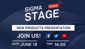 "Online New Product Presentation ""SIGMA STAGE Online"""