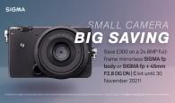 Small camera, big saving! £300 off an fp or fp kit until 30 November 2021!
